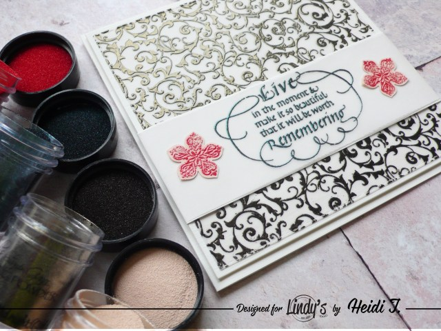 How to create a vellum card project step by step