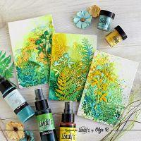 Backgrounds: 3 Ways of Applying Lindy's Sprays