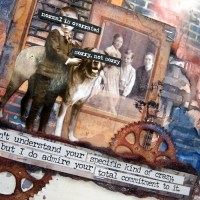 Vintage Art Journal with Natalie May