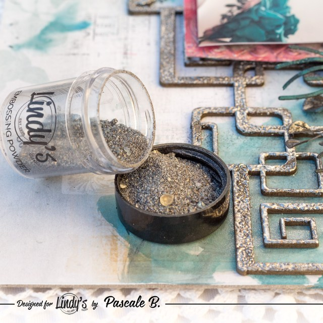 Be Your Beautiful Self - Mixed media layout by Pascale B.