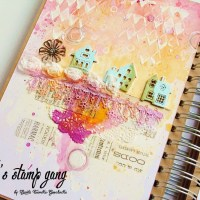 """Home"" Journal Page Tutorial by Marta Turska-Grochocka"