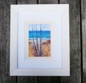 Windswept Trees - acrylic