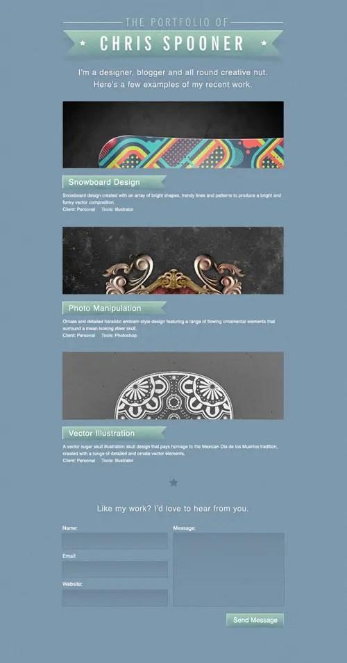 View the portfolio concept