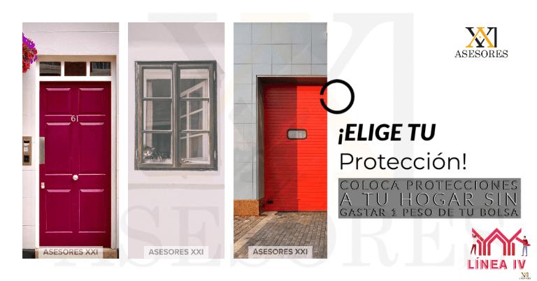 Protecciones de casa, Blog Linea 4