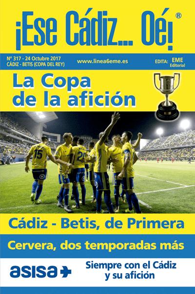 Revista '¡Ese Cádiz...Oé! núm. 317