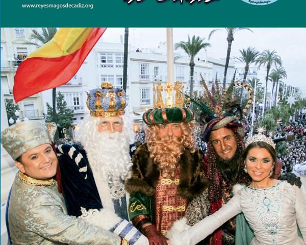 portada de la revista de los reyes magos de cadiz 2018
