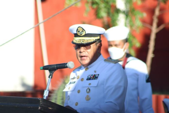Topolobampo naval sector celebrates 200 years of the Mexican Navy.