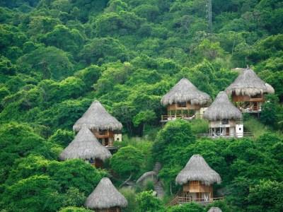 parque tayrona reserva ecohabs hotel ecoturismo colombia