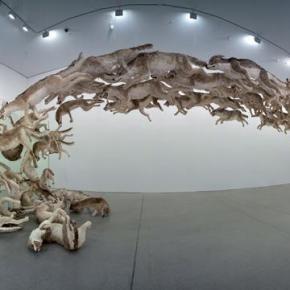 """""""Head On"""", de Cai Guo-Qiang (2006)."""