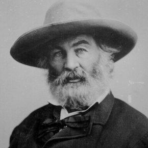 """""""Hojas de hierba"""", de Walt Whitman (1855-1892)."""