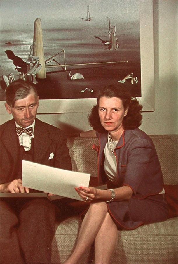 Peggy Guggenheim y Herbert Read, 1939.