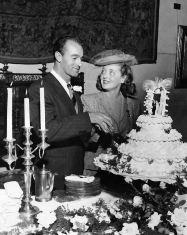 Bette Davis boda