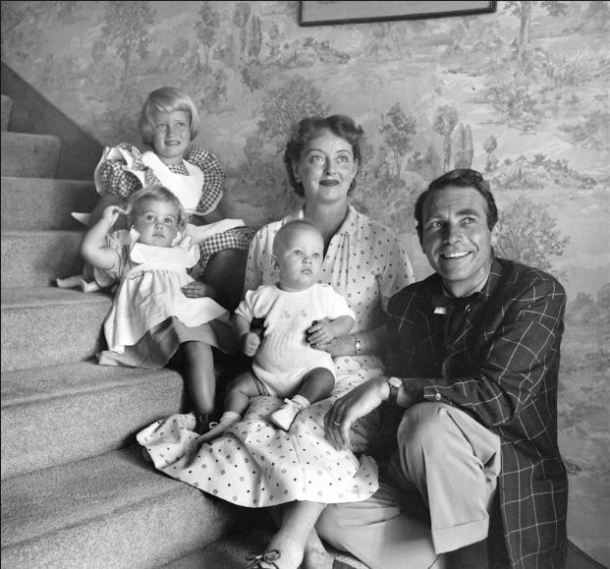 Bette Davis hijos
