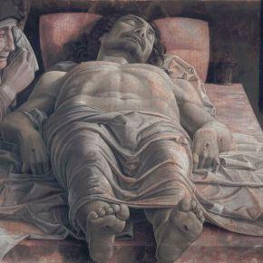 """""""Cristo muerto y tres personajes dolientes"""", de Andrea Mantegna (circa 1457-1504)"""