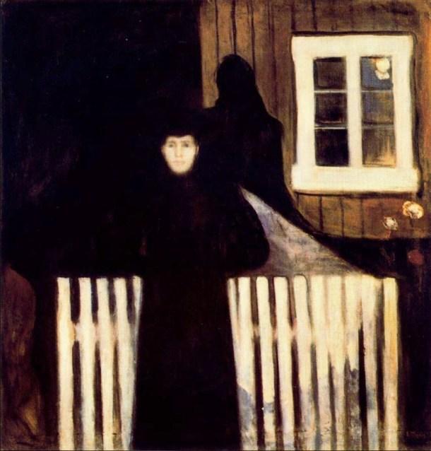 Munch Claro de luna 1893