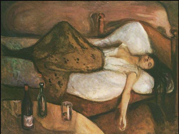 Munch El día siguiente 1894-1895