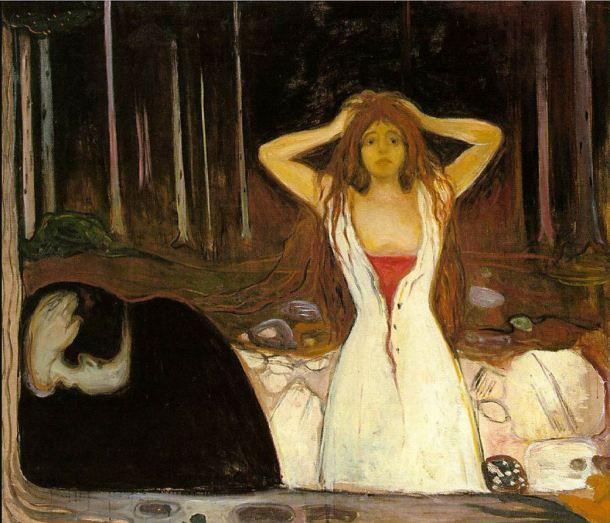 Munch Cenizas 1894