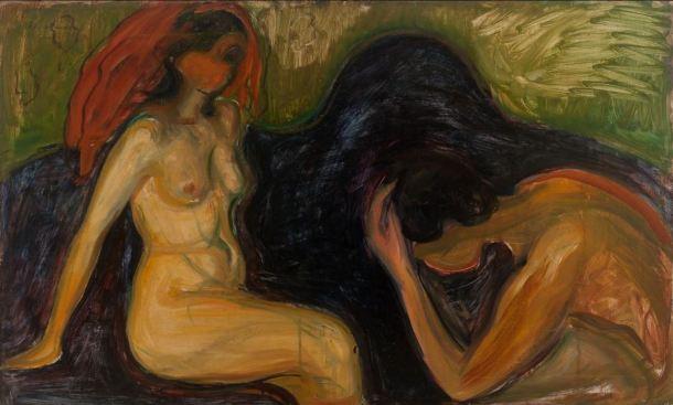 Munch Hombre y mujer 1898