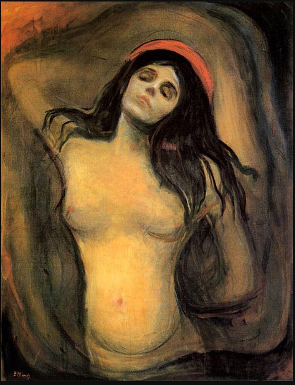 Munch Madonna 1894 95