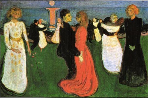 Munch el baile de la vida 1899