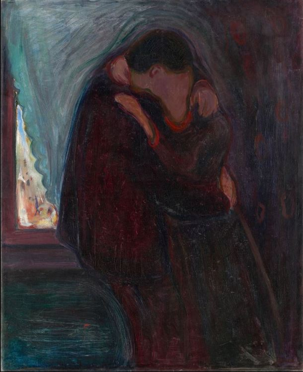 Munch el beso 1897