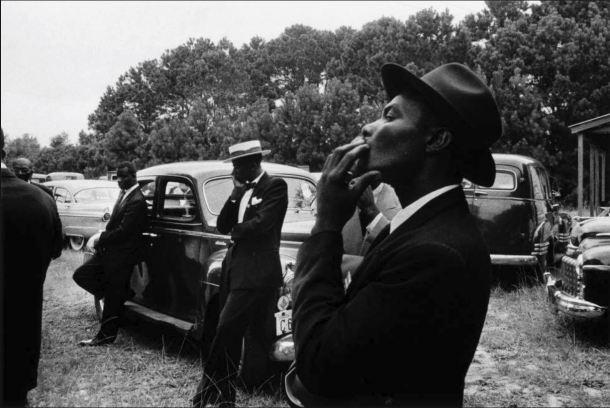 4 Robert Frank Funeral. Santa Helena, Carolina del Sur