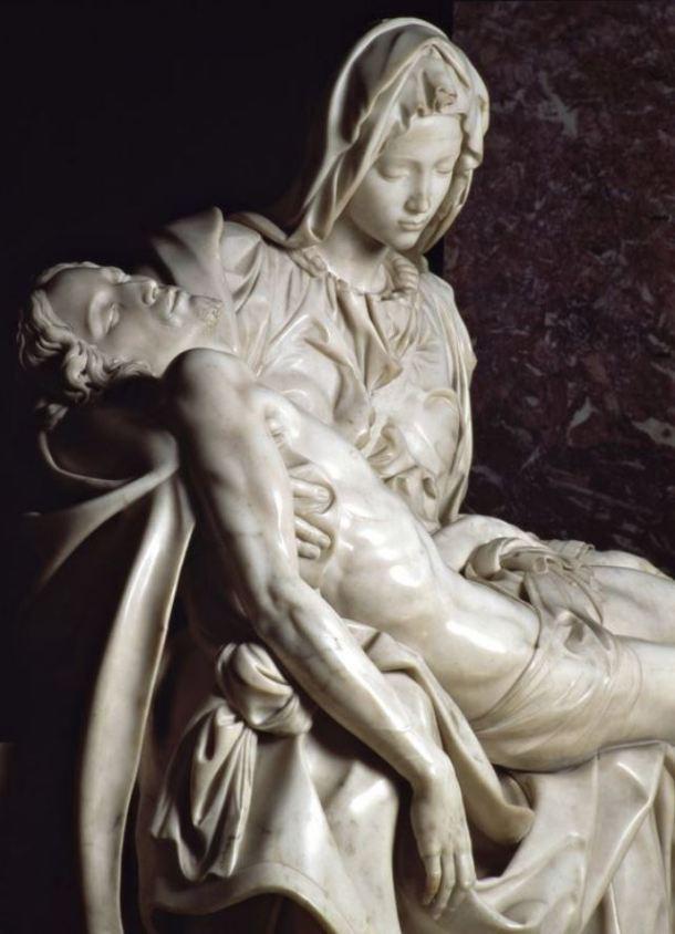 La Piedad y Miguel Ángel: un idilio eterno - líneas sobre arte