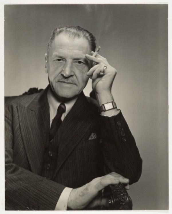 servidumbre humana W. Somerset Maugham según George Platt Lynes (1955).