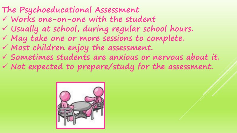 The Process of Psychology Assessments in schools 15