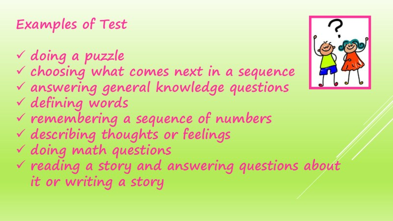 The Process of Psychology Assessments in schools 17