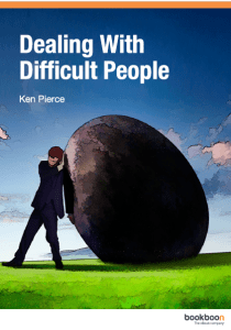 Ebook PDF Free Download Dealing With Difficult People