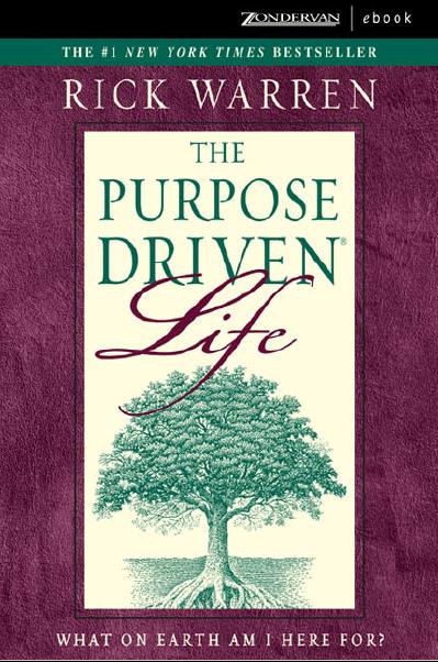 Purpose driven life ebook free download