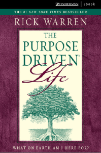 The Purpose Driven Life: What On Earth Am I Here For? Ebook