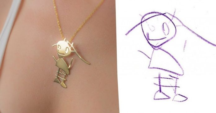 artists-can-turn-your-childrens-drawings-into-amazing-pieces-of-jewelry