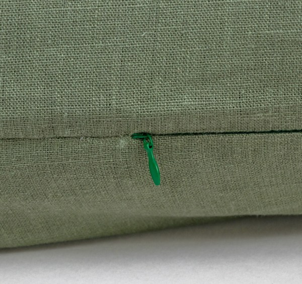 Body Pillow Linen and Stripes Green4