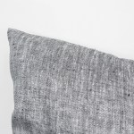 Body Pillow Linen and Stripes Grey6