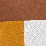 Linen and Stripes leather color retro mustard4