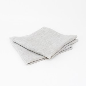 linen and stripes napkin beige1