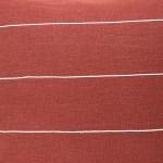 red plain geometric linen and stripes1c
