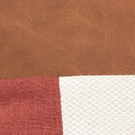 red plain geometric linen and stripes2a
