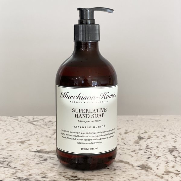 Murchison-Hume (Japanese Quince)- 17oz Superlative Liquid Hand Soap
