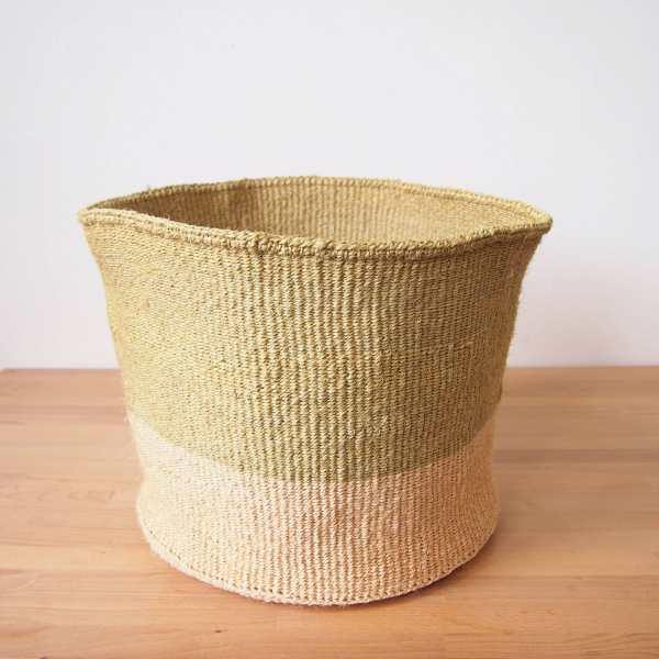 Amsha - XL Storage Basket: Sandbar
