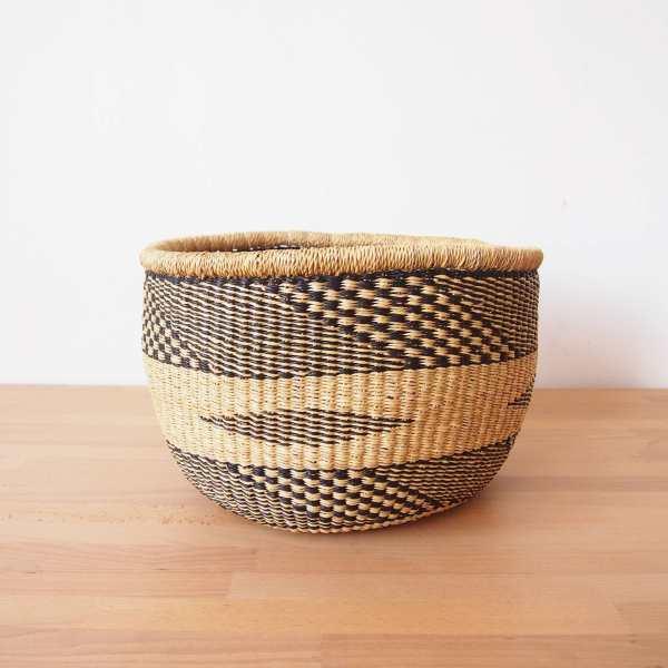 Amsha - Ghana Floor Basket: Volta