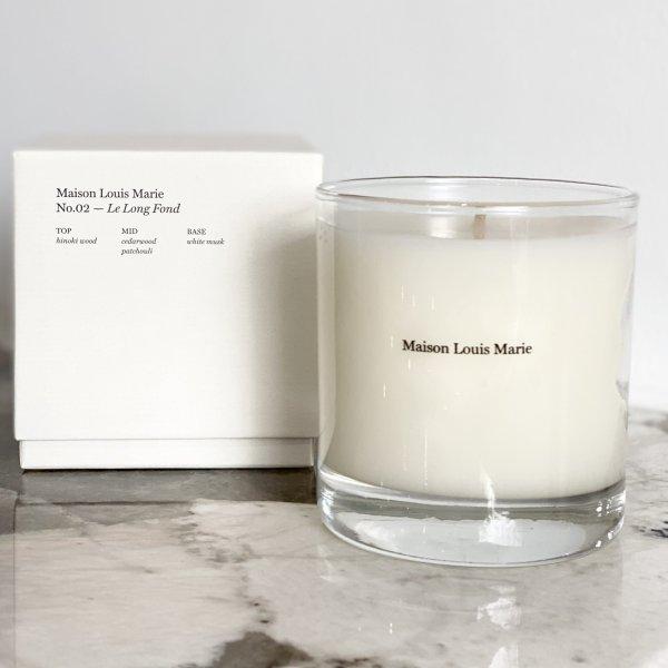 Maison Louis Marie #2 Le Long Fond Candle