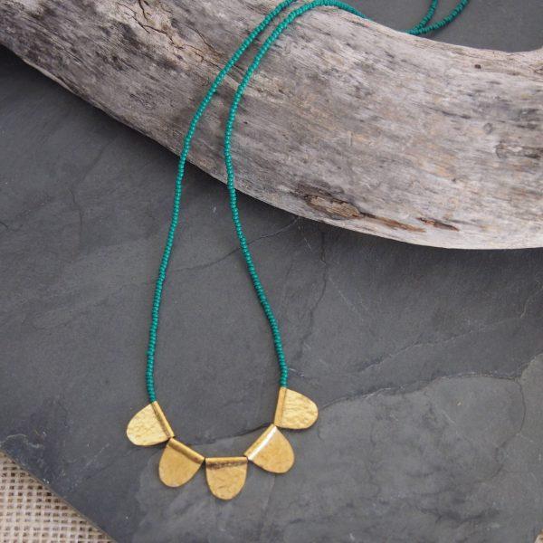 Amsha - Jua Necklace: Green