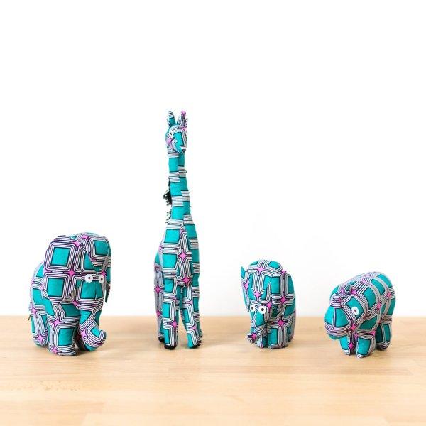 Amsha - Safari Animals: Retro giraffe