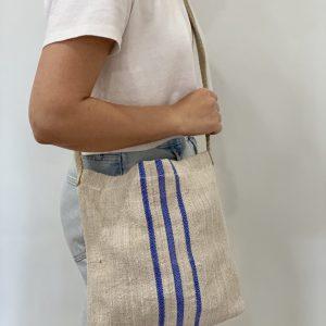 P A T R I Æ  Linen Crossbody Bag