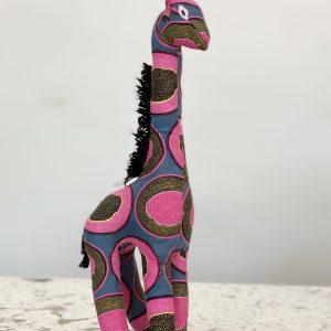 Amsha - Safari Animals: Pink Papaya Giraffe