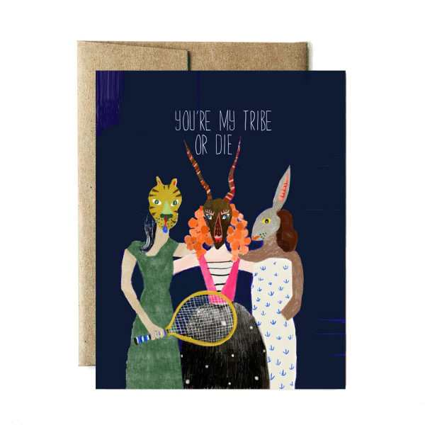 Ferme à Papier - My Tribe or Die Card