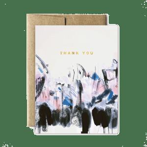 Ferme à Papier - Foil Abstract Sunrise Thank you